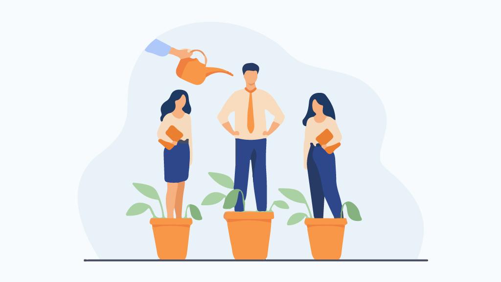 آموزش کارکنان و تلاش برای ارتقای دانش و مهارت آنان